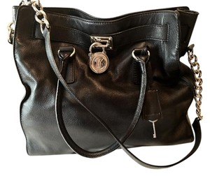Michael Kors Leather Expandable Shoulder Bag