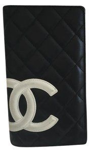 Chanel Cambon CC Long Quilted Bifold Wallet