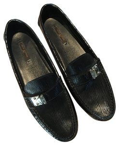 Louis Vuitton Black Flats