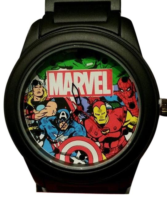 Item - Black New Marvel Avengers Thor Captain America Iron Man Hulk Watch