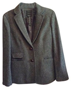 J.Crew Gray tweed Blazer