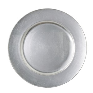 Silver Charger Plates