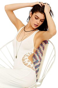 White Maxi Dress by Urban Outfitters Staring At Stars Free People Boho Maxi