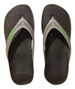 Havaianas Black with grey straps Sandals