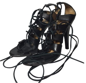 Saint Laurent Black Sandals