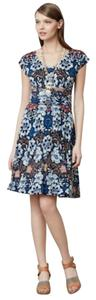 Anthropologie short dress Multi Abstract Meadow Rue on Tradesy