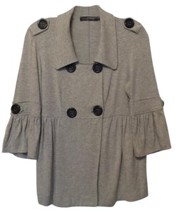 Anthropologie High Street Knit Small Grey Jacket