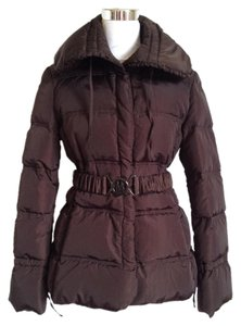 Moncler Puffer Down Filled Belted Coat