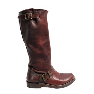 Frye Veronica Brown Leather 7 Black Boots