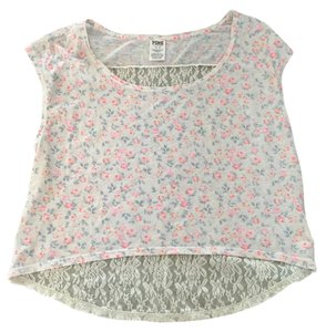 Victoria's Secret Lace Floral Chic Crop Comfortable Top