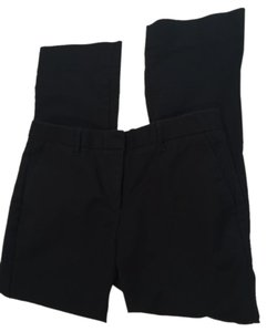 Gap Cotton Tailored Crop Capri/Cropped Pants Black