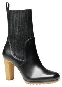 Gucci Leather Heel Black Boots
