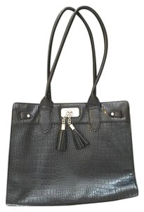Liz Claiborne Leather Chic Classic Date Night Tote