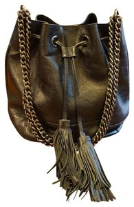 Rebecca Minkoff Leather Bucket Cross Body Shoulder Bag