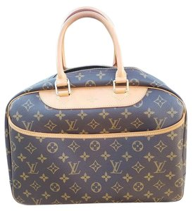 Louis Vuitton Deauville Deauville Gm Tote in Brown