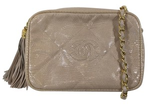 Chanel Vintage Lizard Rare Purse Shoulder Bag
