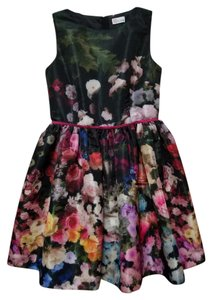RED Valentino Floral Above Knee Dress