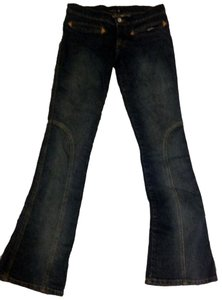 Frankie B Boot Cut Jeans-Dark Rinse