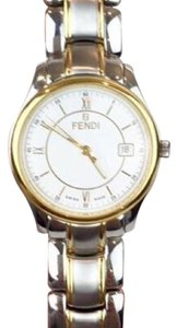 Fendi FENDI Men's or Unisex Stainless & Gold Watch!