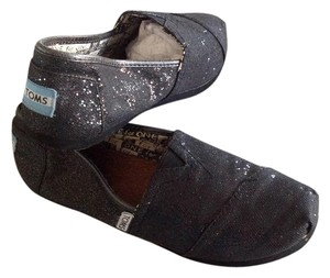 TOMS Classic Slip On Black Flats