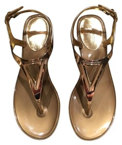 Stuart Weitzman Comes With Box Gold Sandals