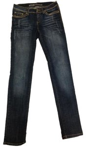 90 Degree by Reflex Skinny Jeans-Dark Rinse