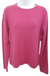 Merona Pink Knit Cashmere Sweater