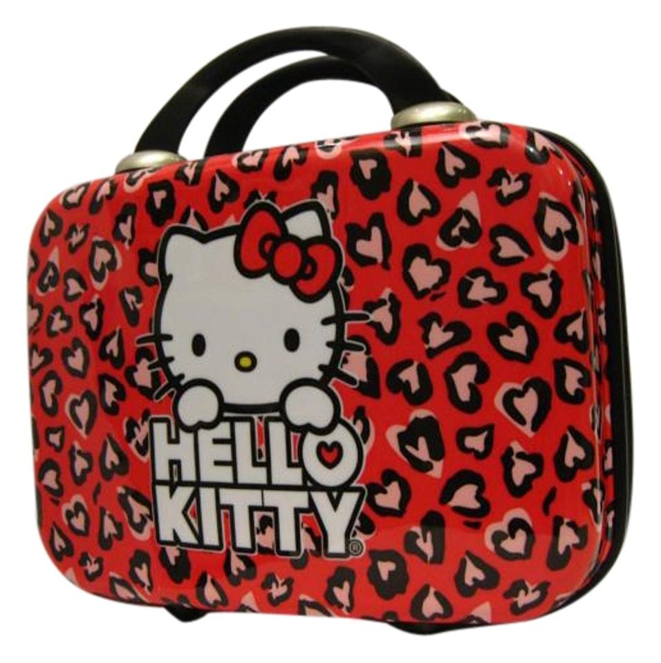 3b9ccac6e3 Hello Kitty Smooth Hard Cosmetic Case  hearts  Multicolor Abs ...