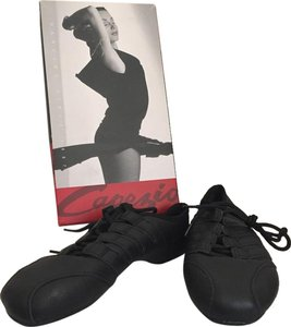 Capezio Black Leather Athletic