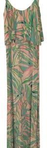 Blue, green, pink and white Maxi Dress by Lilly Pulitzer