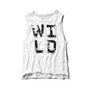 Abercrombie & Fitch Top Black, white