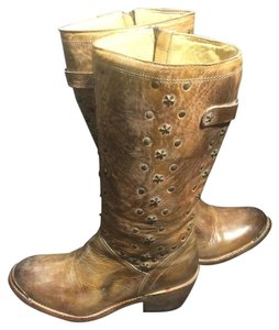 Bed|Stü Size 8 8 Biker Women's Size 8 Brown Boots
