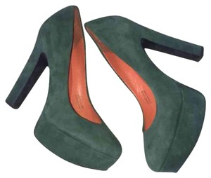 Via Spiga Green Orange Platforms