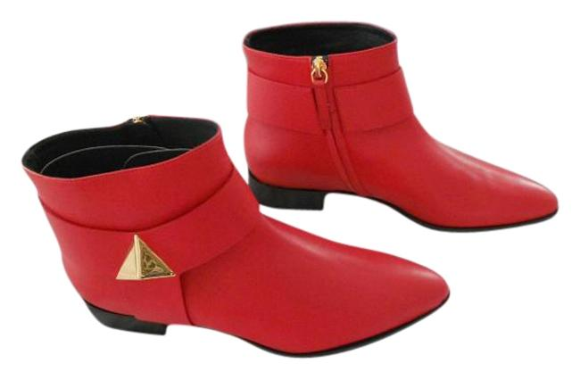 Item - Red I47112 Chelsea Leather Boots/Booties Size EU 39.5 (Approx. US 9.5) Regular (M, B)