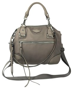MZ Wallace Satchel in Gray