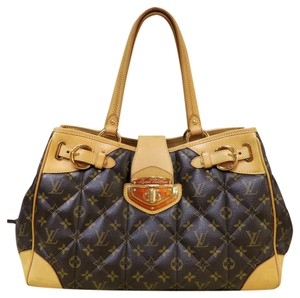 Louis Vuitton Lv Canvas Quilted Tote in monogram