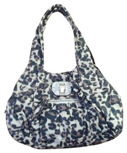 Kathy Van Zeeland Animalprint Shoulder Bag