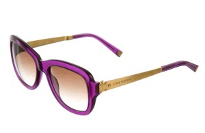 Louis Vuitton Purple glitter resin Louis Vuitton Soupcon LV logo sunglasses