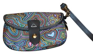 Dooney & Bourke & & Db Pop Novelty Pop Novelty Rare & Wristlet in Multi