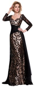 MNM Couture Evening Ball Gown Gown Long Dress