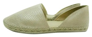 Jimmy Choo Espadrille Snakeskin Leather pink nude Flats