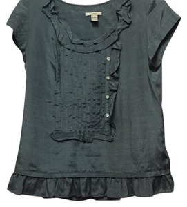 J.Crew Top Grey/green