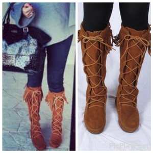 Faahion Envy Chestnut Boots