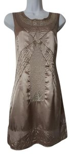 Vertigo Paris Beaded Polyester Dress