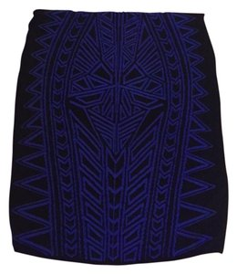 RVN Mini Skirt Black/Blue