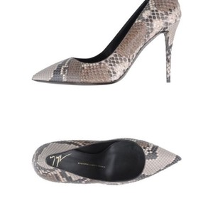 Giuseppe Zanotti White grey brown Pumps
