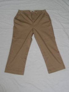 Coldwater Creek Capris beige