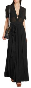 Black Maxi Dress by Étoile Isabel Marant Maxi Chic Night Out Date Night