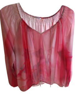 T Tahari Top Pinks