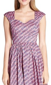 Tracy Reese short dress Pink Watery Plaid on Tradesy